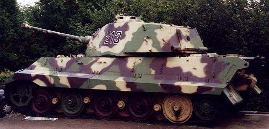 Kingtiger on display at LaGleize museum